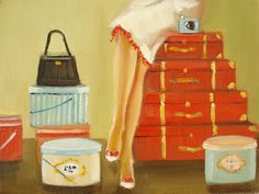 She Always Traveled With Her Instamatic by Janet Hill
