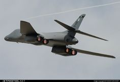 A B-1B bomber from Dyess AFB in Abilene, Texas my home town...