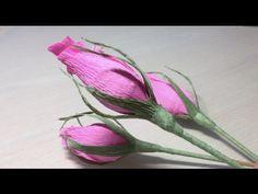 Бутон розы из конфет - YouTube