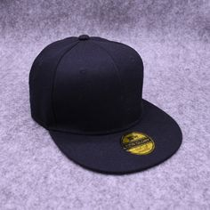 b40ce5523bec23 US $3.65  Aliexpress.com : Buy Men and Womens Spring baseball hat Cotton Adjustable  Pure Caps Unisex Flat Hip Hop hats Europe Style Cowboy Snapback cap from ...