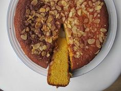 Delicious recipe but need to take care not to leave too long in the oven. Also 4 oranges and 2 lemons is more syrup than needed. How to cook the perfect sticky orange cake Orange Syrup Cake, Orange And Almond Cake, Orange Cakes, Baking Recipes, Cake Recipes, Fodmap Recipes, Almond Cakes, Sugar And Spice, Yummy Food