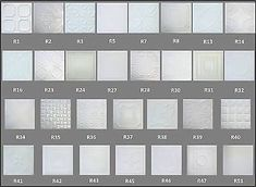 """I've been look for a solution for my ceilings, and here it is! 20"""" square extruded polystyrene foam tiles that simulate tin ceilings. They come in a bunch of different patterns and can be painted with latex paint. Best of all, it comes out to about a dollar a square foot!"""