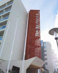 Insegna Hotel Nautilus.  #realizzazioni #insegna #insegne #signs #sign #logo #advertising #adigital #madeinitaly #pesaro #mare #hotel #hotels