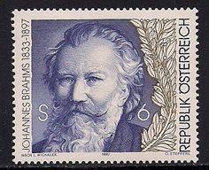 Stamps of Johannes Brahms