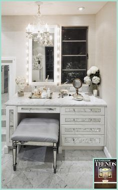 A very stylish bathroom idea - if you want to see the whole room get inspired here: http://ebooks.trendsideas.com/Book875