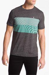 Volcom 'Nue Volca' Stripe T-Shirt