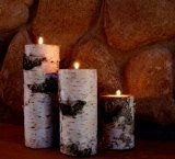 Real Birch Log Candle Holder Set -- To view further for this item, visit the image link.Note:It is affiliate link to Amazon.