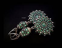 Náušnice - Jade mandalas - 7191847_