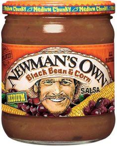 Best Dips: Newman's own black bean & corn salsa