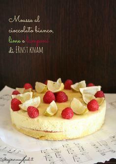 Mousse cioccolato bianco e lamponi (o fragole) per il Cakes Lab test & taste   Ciliegine Rosse