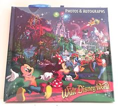 Walt Disney World Storybook at Night Character Photo Album Autograph Book Pen >>> Check out the image by visiting the link.