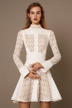'A very English beauty' was playing through Sarah Burton's mind as she was designing Alexander McQueen pre-fall, chiefly in the form of Julie Christie in Far from the Madding Crowd.