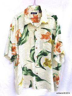 e6379978 Puritan Hawaiian Aloha Shirt XL #Puritan #Hawaiian Aloha Shirt, Casual  Shirts For Men