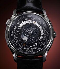 Patek Philippe World Time Moon – Мировое время от Патек Филипп | LuxuriousWatches.ru