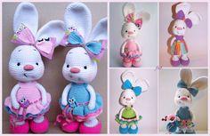 Crochet Amigurumi Bunny Free Patterns