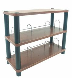 Whether you need a night stand media table or accessory shelf this 3 Tier Shelf with Rounded Corners is a great way to fill that need!