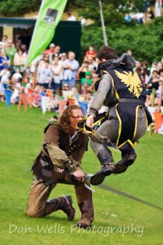 "Swordfight at ""Robin Hood Day"" Sherwood Forest, Nottinghamshire"