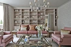 Design experts Houzz have unveiled the most popular photos of the year. Pictured: With sof...