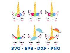 Unicorn svg file Unicorn clipart Unicorn head svg Unicorn