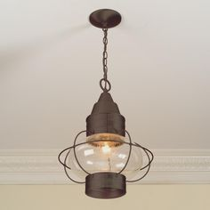Nautical Hanging Lantern - Shades of Light $149 (front porch)