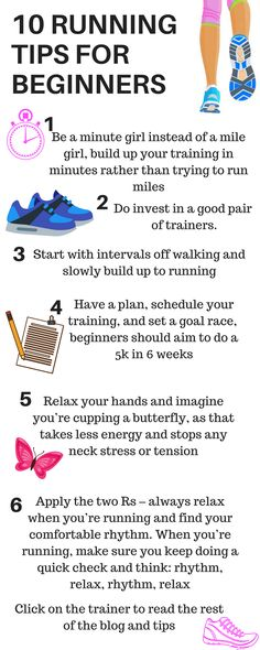 10 TOP TIPS FOR BEGINNERS TO RUNNING. These running tips will help take a beginner to running to easily be able to run a 5k. Lucy