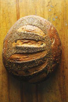 Olive Loaf  Wild Flour Bread  140 Bohemian Highway  Freestone, California  707-874-2938