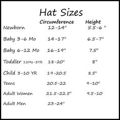 Average Hand Size Chart For Crochet I Require Men S