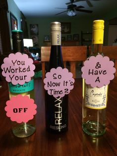 College Graduation Gift! Super Simple and who doesnt love wine!!!