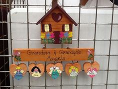 custom grandparent plaque by LazyHoundWorkshop on Etsy, $25.00