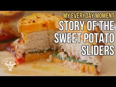 Vlog: Story of FitMenCook Sweet Potato Sliders / Sliders de Batata y Pavo - YouTube