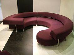 Art Deco-influenced couch - Decoist