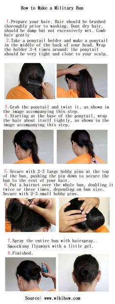 How to Make a Military Bun - Hairstyles and Beauty Tips Hair Color 2018, Latest Hair Color, Hair 2018, Military Bun, Military Life, Red To Blonde, Blonde Hair, Fall Hair Colors, Trendy Hairstyles