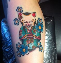 Kitty-geisha tattoo #instagram