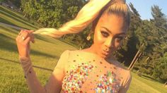 This 18-Year-Old's Beyonce-Inspired Prom Dress is Amazing -- See the Epic Pics! - http://thisissnews.com/this-18-year-olds-beyonce-inspired-prom-dress-is-amazing-see-the-epic-pics/