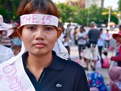 Yorm Bopha, Housing Rights Activist in Cambodia, recently released from jail