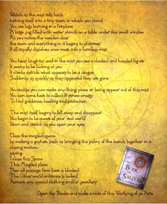 description of magikal activity shamanic/witchcraft type  Using that Magikal space P2 - Pinned by The Mystic's Emporium on Etsy
