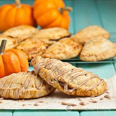 10 Harry Potter Recipes You Can Make in Real Life | PUMPKIN PASTIES   | What's better than a portable pumpkin pie? Go all in on the Harry Potter theme – pairing the small pastry with a hot mug of butterbeer just feels right. Get the recipe HERE