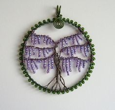 Wisteria (sold) by Louise Goodchild, via Flickr