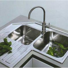 Lavelli Angolari Per Cucina.15 Fantastiche Immagini Su Lavello Ad Angolo Lavello Ad