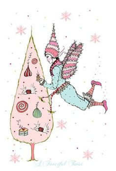 Sugar Plum Fairy by AFancifulTwist on Etsy