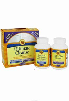 Ultimate #Cleanse offers a unique, 2-step program that gently works through the #digestive tract with the body's own internal systems to #cleanse and detoxify. The two formulas in Ultimate Cleanse are Multi-Herb Digestion & Detox Support and Multi-#Fiber #Cleanse. Each product contains proprietary blends of nutrients, designed to be taken together for best results. http://www.naturallysource.com/product_info.php?products_id=159