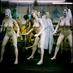 We've been amazed by these oddly visceral photographs from an inflatable sex doll factory in China, and now, thanks to Huffington Post, we are now looking at photographs of another sex doll factory in San Marcos, California, that makes customized dolls. These snapshots were taken by Zackary Canepari for a film he co-directs with Drea […]