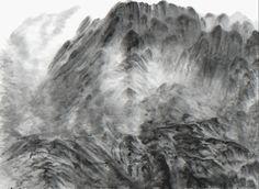 Xu Longsen, The Spirit of Mountains , 2016, Hanart TZ Gallery (achromatic)