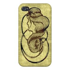 Lady iPhone 4 Cover