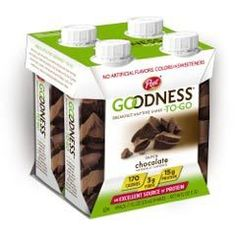 Post Goodness-To-Go Dutch Chocolate Four-Pack Technology Magazines, Food Technology, Printable Coupons, Printables, Going Dutch, Yummy Food, Good Things, Chocolate, Breakfast