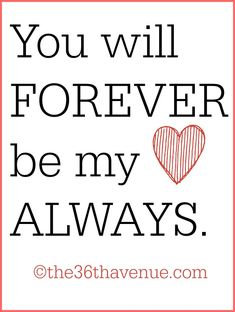 All time favorite LOVE QUOTES... 31 ways to say i love you! #valentines
