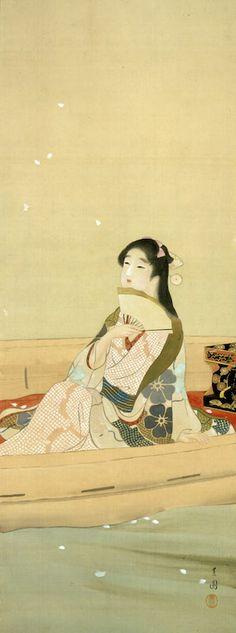 次回の展覧会「【特別展】上村松園 生誕140年記念 松園と華麗なる女性画家たち」 - 山種美術館