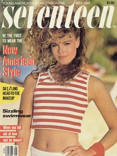 Magazine photos featuring Christie Brinkley on the cover. Christie Brinkley magazine cover photos, back issues and newstand editions. Seventeen Magazine, Old Magazines, Vintage Magazines, Fashion Magazines, My Magazine, Magazine Covers, Science Magazine, 80s And 90s Fashion, Christie Brinkley