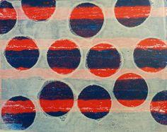 http://www.alvina.dk/grafik Gelli Print. Size: A4 Price: 40 €