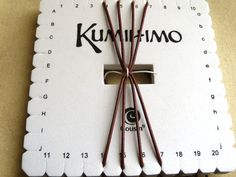 Get some tips and ideas for creating kumihimo projects using a square disc.